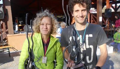 Dvořák a Novotná zvládli náročný trail Hradčanech nejrychleji