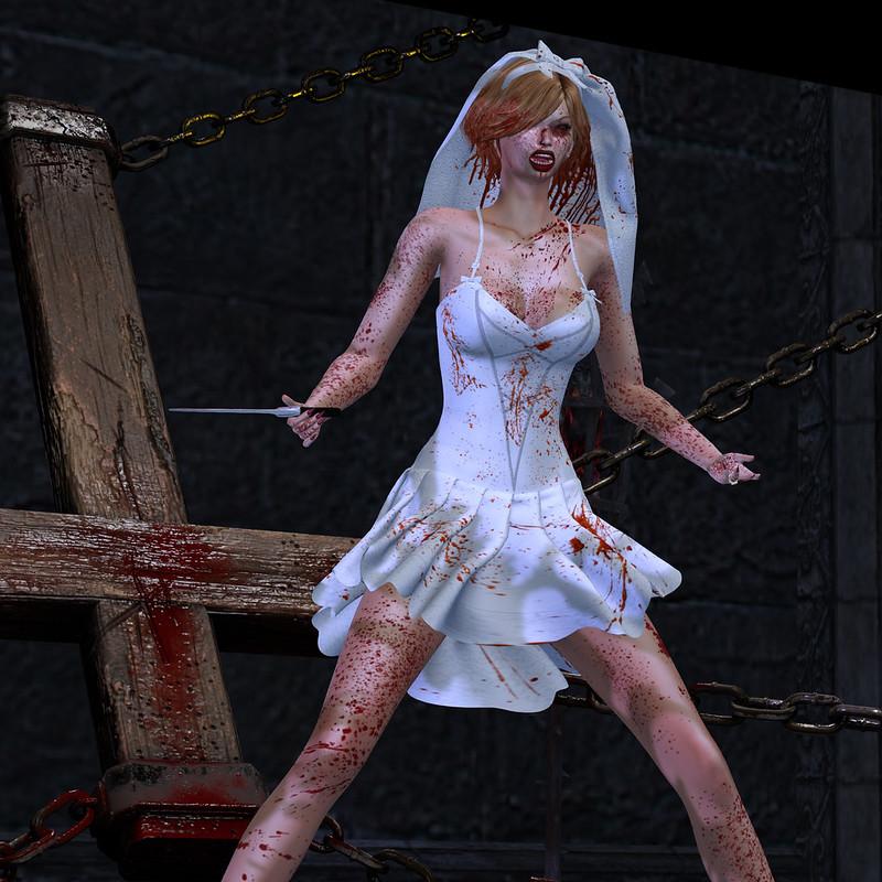 Emas Secret Ghost Bride Dress