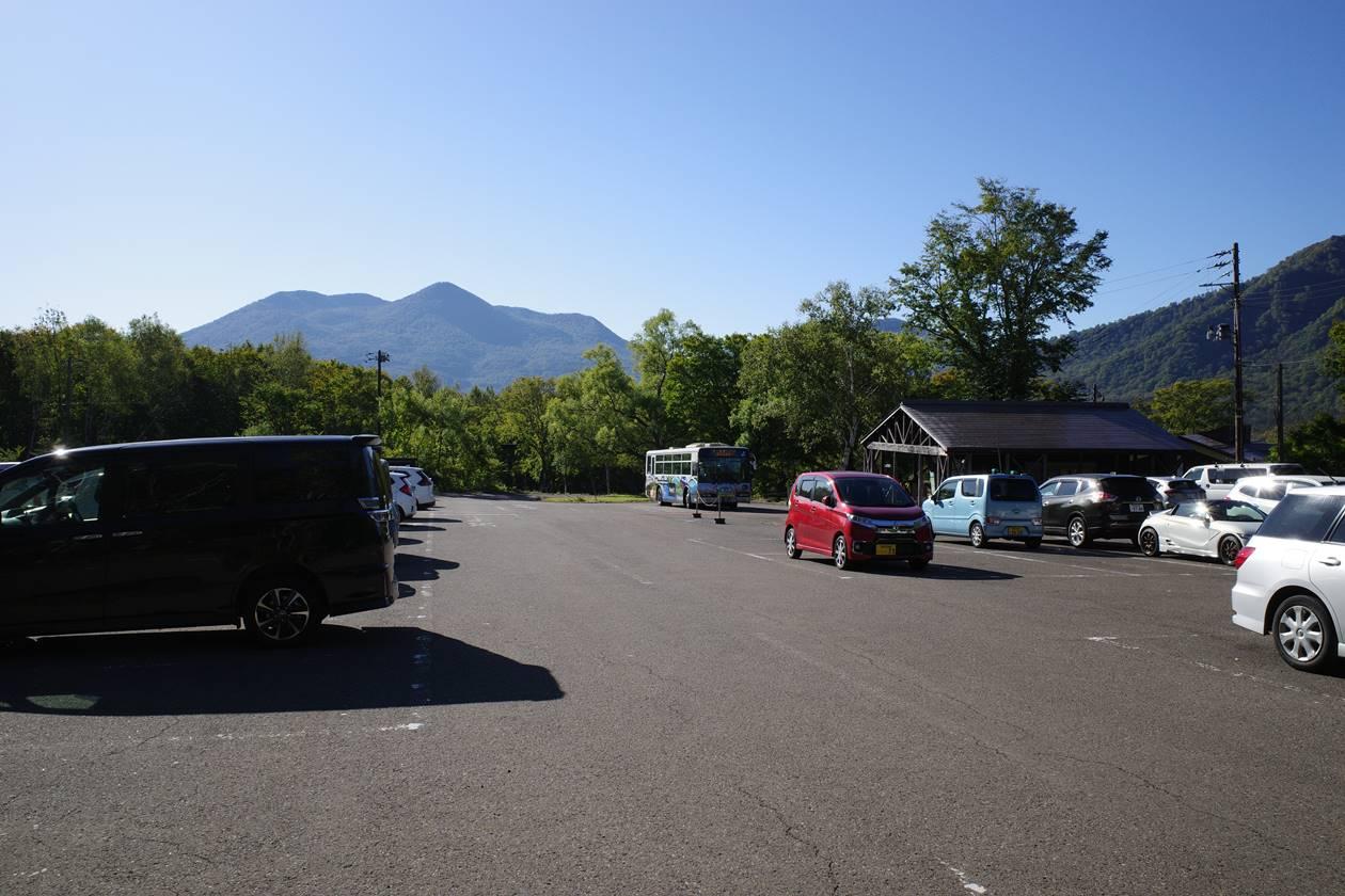 笹ヶ峰登山口駐車場