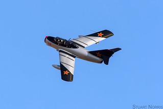MiG-15 UTI Red 18 N104CJ - Norwegian Air Force Historical Squadron