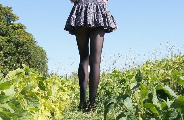 Jack Wills Skirt in the Field