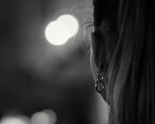 The earring girl.