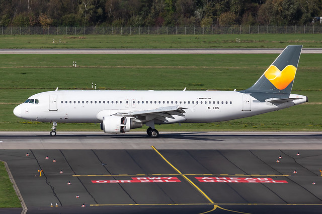 YL-LCS Thomas Cook Airlines (SmartLynx) Airbus A320-214