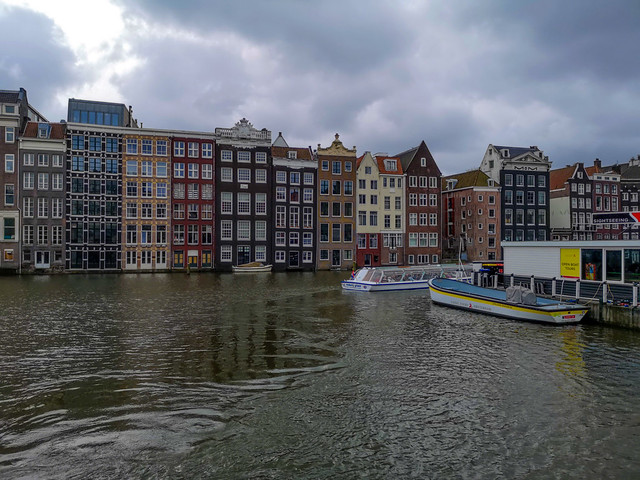 The famous Amsterdam Canals and their Ferry Boat Cruise.