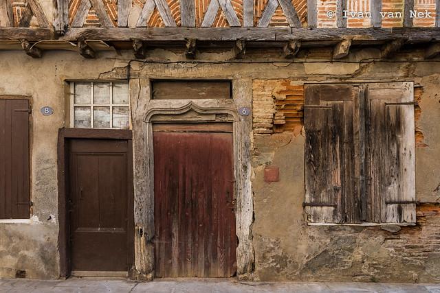 Rue de la Porte Sensac, Montesquieu-Volvestre