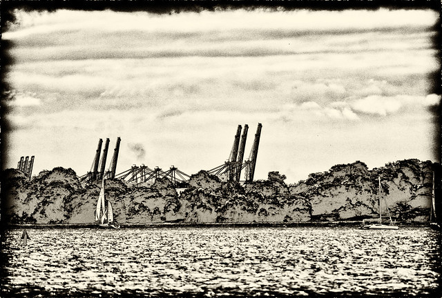 Sails and Cranes