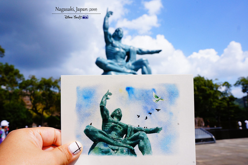 2019 Japan Kyushu Nagasaki Peace Memorial Park & Monument