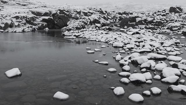 First snow fall, Apex river, Nunavut (resubmit)