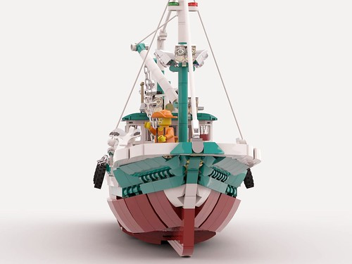 The great fishing boat, Vote for it on Lego Ideas!
