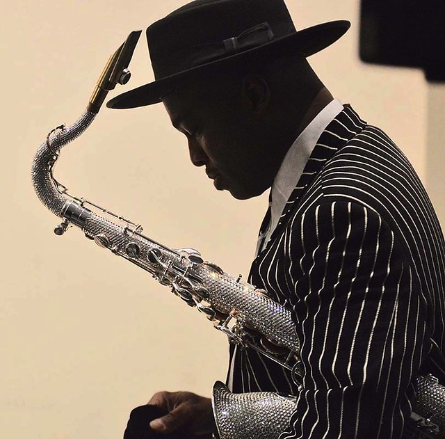 The Thinker:  Jazz Saxophonist, James Carter.