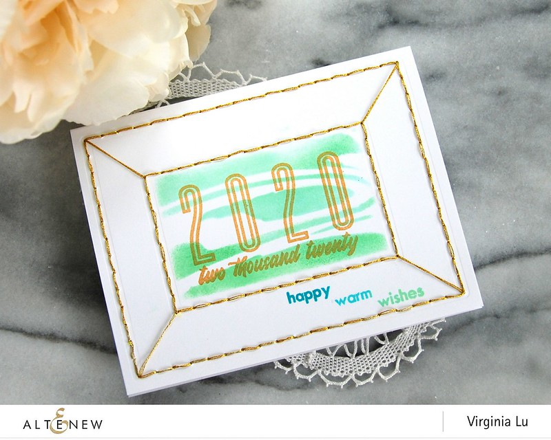 Altenew-StringArtRectanglesDieSet-2020Stampset-MarbleLiquidStencil-HelloWinter-Virginia#3