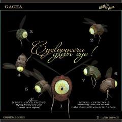 Lilith's Den - Cyclopycera  [green eyes]  Gacha