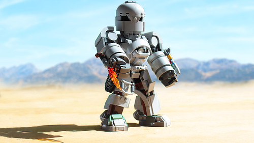 Lego Iron Man Mark 1 Chibi