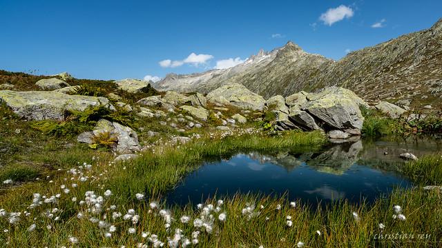 Grimselpass vue Nord (Switzerland)