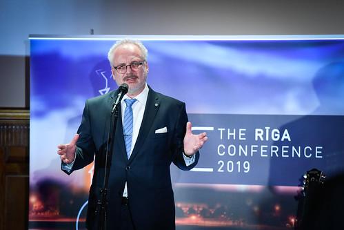 Valsts prezidenta Egila Levita uzruna Rīgas konferencē 2019