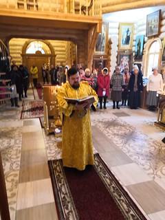 12.10.2019 | Божественная литургия в дер. Юрьево