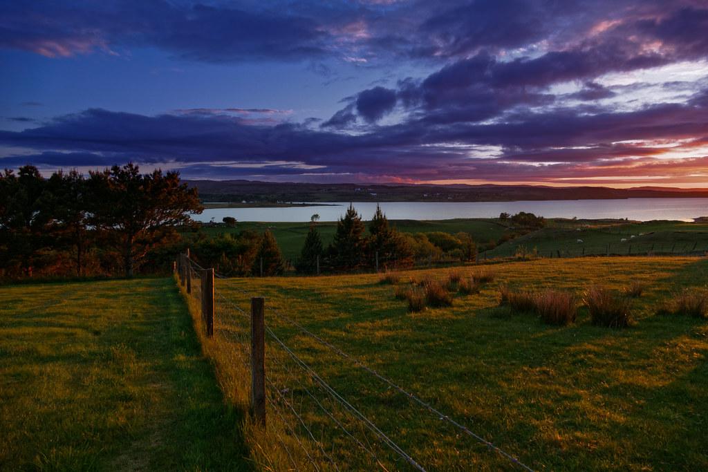 Couchez de soleil sur l'île de Skye 48886458877_c68790c946_b