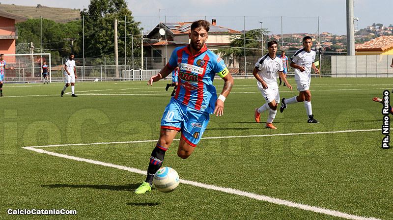 Il capitano Rossitto, autore di tre assist tutti in gol