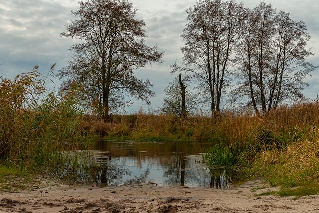 River Usmanka, Voronezh, Russia.