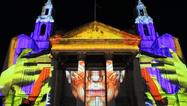 Light Night Leeds @ Civic Hall , West Yorkshire, England, UK