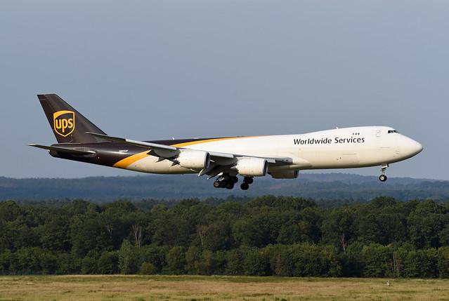 United Parcel Service (UPS) Boeing 747-8F N605UP Spirit of Joe Sutter