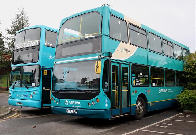 Arriva Wales/Cymru: 4191 Y706XJF DAF DB250LF/East Lancs