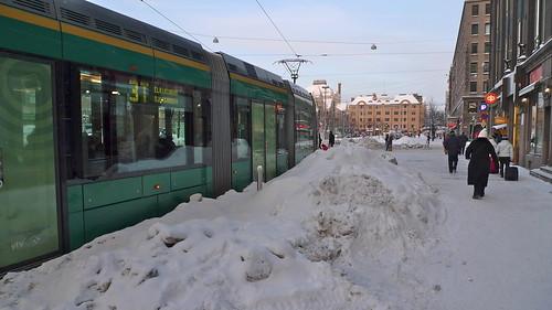 Helsinki tram, December 2009