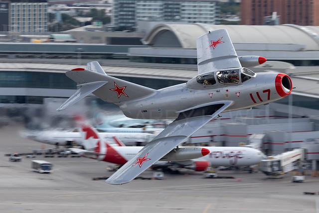 Private MIG-15 C-FMVN [YYZ]