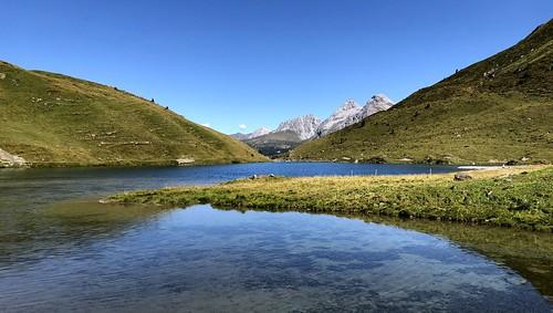 schwellisee arosa switzerland lake alpinelake alps swissalps alpen landscape scenery alpinescenery alpinelandscape mountains iphone peterch51 graubünden grisons