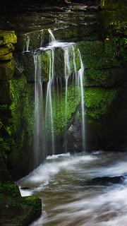 Jesmond Dene Falls