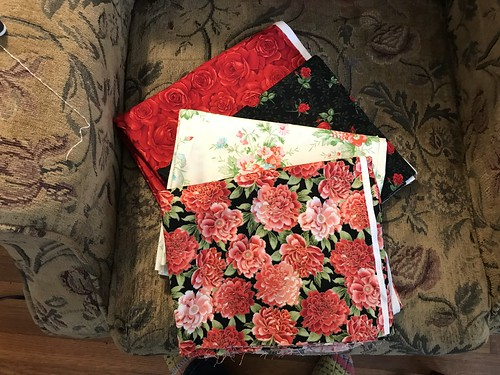 Fabric with gift card