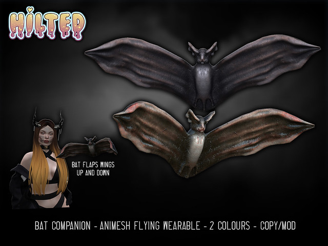 HILTED - Bat Companion