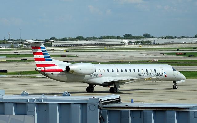 American Eagle (Envoy Air) Embraer ERJ-145LR N619AE