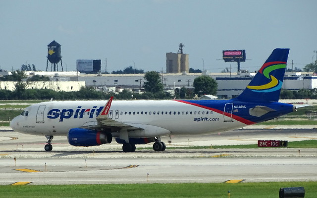 Spirit Airlines Airbus A320 N638NK