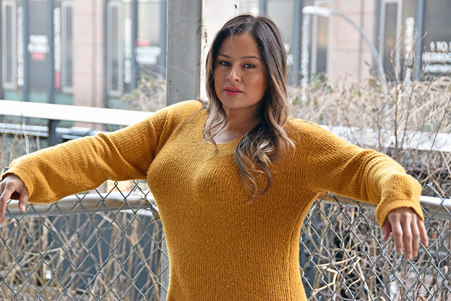 Picture Taken Of Carolina At The Highline Park In New York City. Photo Taken Monday February 4, 2019