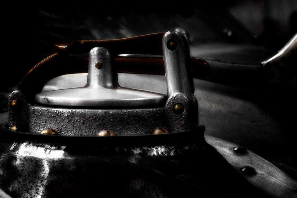 1947 Chevy custom restoration: gas cap
