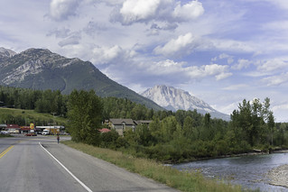 Entering Fernie