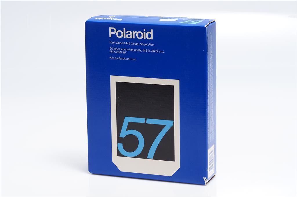 Polaroid type 57 film