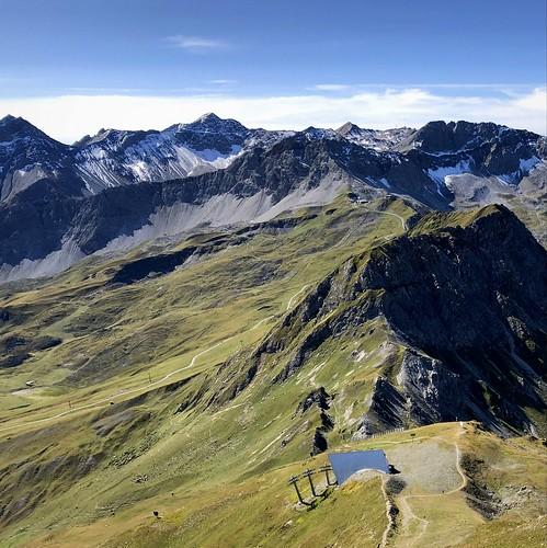 weisshorn aroserweisshorn arosa grisons graubünden switzerland mountains alps alpen swissalps scenery landscape alpinescenery alpinelandscape view beautifulview square iphone peterch51