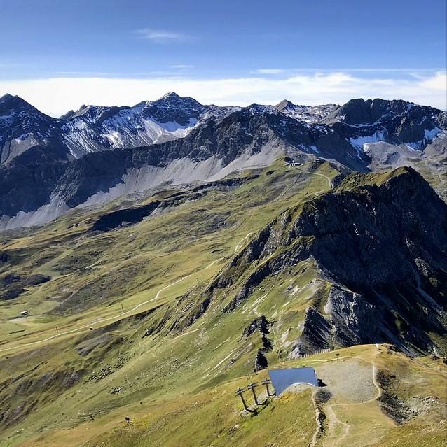 View from Aroser Weisshorn