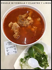 Pozole /Posole - ONLY SERVED on Saturdays @ Jimenez Taqueria > Fullerton & Avers, Chicago.