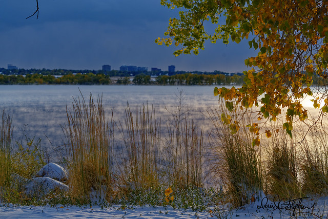 Fall Snow - At Cherry Creek Reservoir