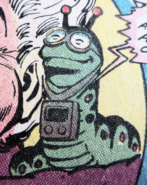 2019 Mr Mind Evil Worm Villain of Shazam 5399