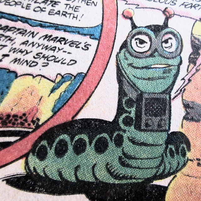 2019 Mr Mind Evil Worm Villain of Shazam 5402