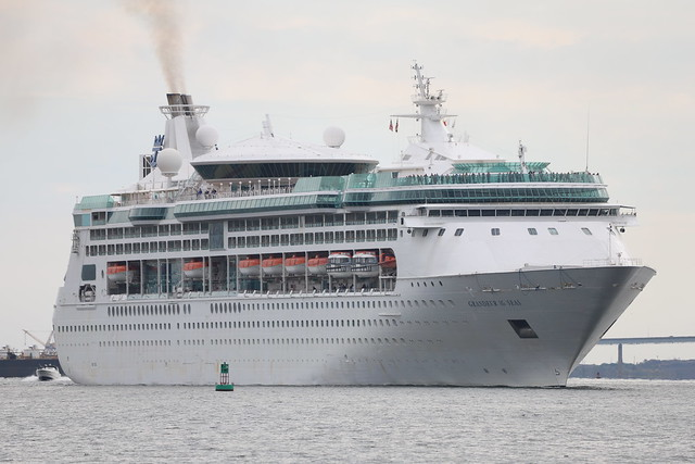 123/366/4140 (October 12, 2019) - Royal Caribbean's Grandeur of the Seas - Arriving in Baltimore, Maryland - October 12th, 2019