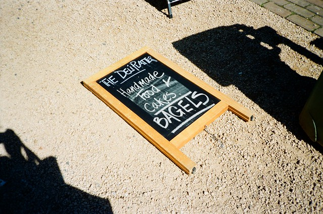 Sign - The Deli Platter
