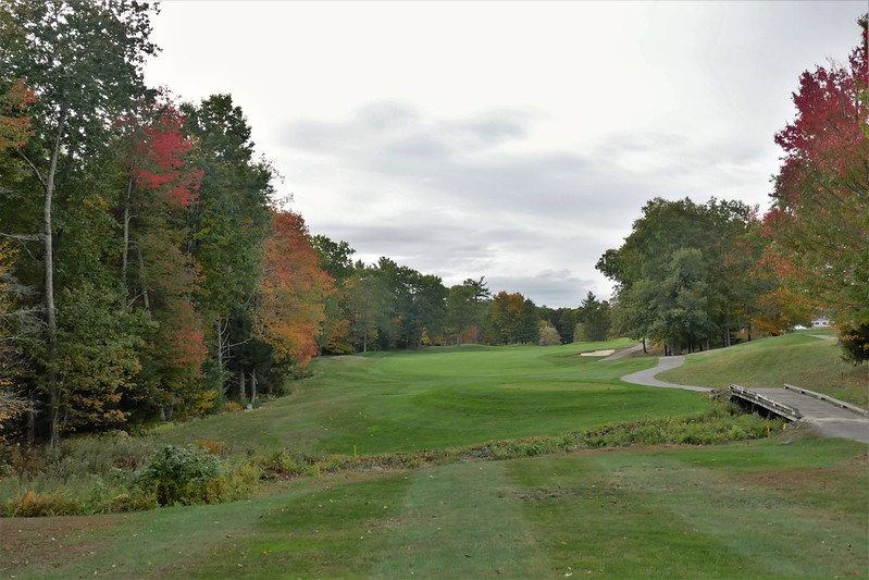 Ledges #9 from tee 216