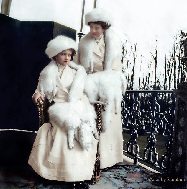 Grand Duchesses of Russia Olga and Tatiana | Великие княжны Ольга и Татьяна