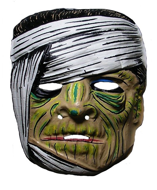 Mummy With Green Complection Mask 0103