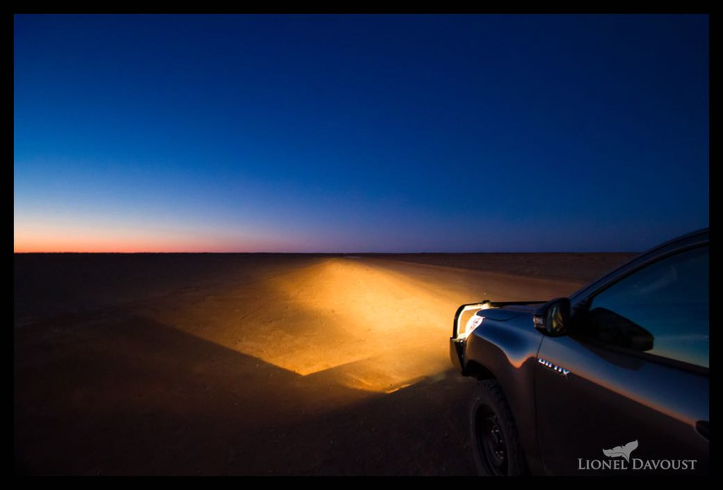 Heading into the desert